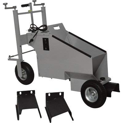 Klutch Electric Walk-Behind Concrete Curb Machine - 5.8in. Working Width, 3/4 HP