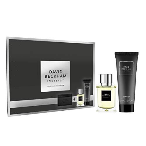 David Beckham Instinct Geschenkset Eau de Toilette 30 ml + Duschgel  75 ml + hochwertiges Kartenetui