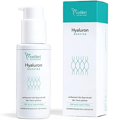 Sérum à l acide hyaluronique hautement dosé - Made in Germany - Vainqueur du test 2020 - Acide hyaluronique pour le visage - Soin visage femme - Serum visage - Soins pour le visage