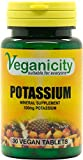 Veganicity Potassium 100mg : Bone & Joint Health Supplement : 30 tablets by Health + Plus Ltd