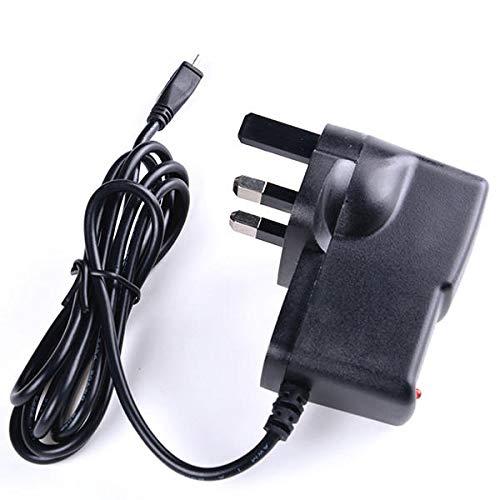 SHANG-JUN Fácil de Montar Cargador de la Fuente de alimentación de 5V 2.5A Reino Unido Micro USB Adaptador de CA del Cargador for Raspberry Pi 3 5 x Conveniente