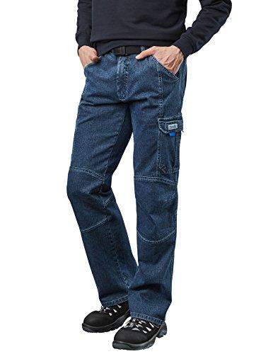 Pionier ® workwear Herren Casual Jeans mit Zollstocktasche in blau (Art.-Nr. 2990) Größe 52