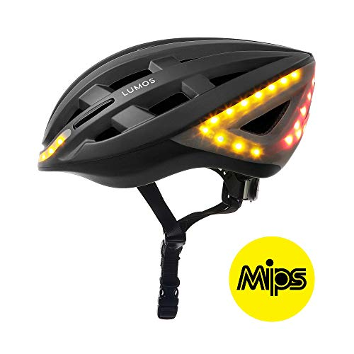 Lumos Kickstart Fahrradhelm, MIPS Charcoal Black, One Size