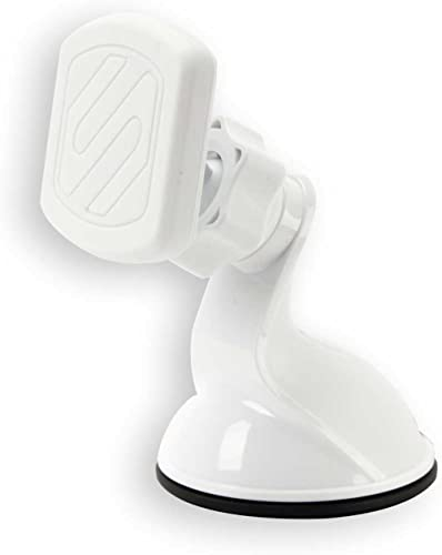 Scosche MagicMount Dash/Window Magnetic Mount with Suction Cup White
