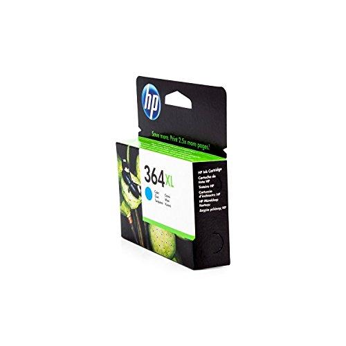 XL de tinta original para HP Photosmart Premium TouchSmart Web HP 364X L, no364X L, Nr 364CB323EE, cb323eeabb, cb323eeabe, cn685e–PREMIUM Impresora de tinta–Cian–750páginas–6ml