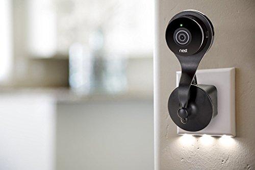 Nest Cam Steckdosen Halterung - Wandhalterung mit 360° Drehgelenk für Nest Cam und Dropcam PRO -...