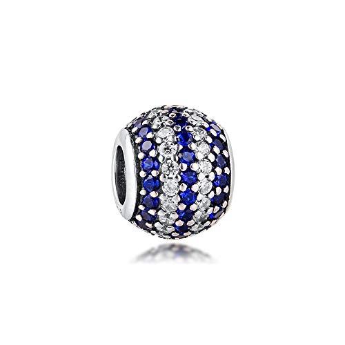 Pandora 925 Sterling Silver DIY Jewelry CharmGenuine pulsera azul bandas náuticas con banda de joyería pulsera de marca
