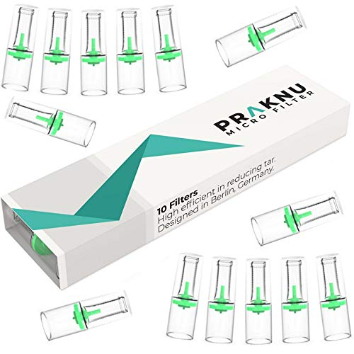Praknu 220 Zigarettenfilter Filterspitzen - Effektiv - Reduziert Teer - Mikrofilter für Zigaretten