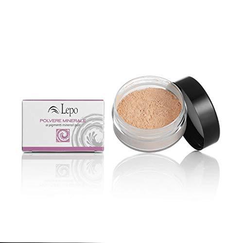 LEPO Poudre Poudre Minéral Fixation Astuce Tonalità 50 9 gr Maquillage Visage