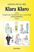 Klara Klaro: Oder Warum auch Wikipedia nicht alles ueber Erstkommunion weiss.