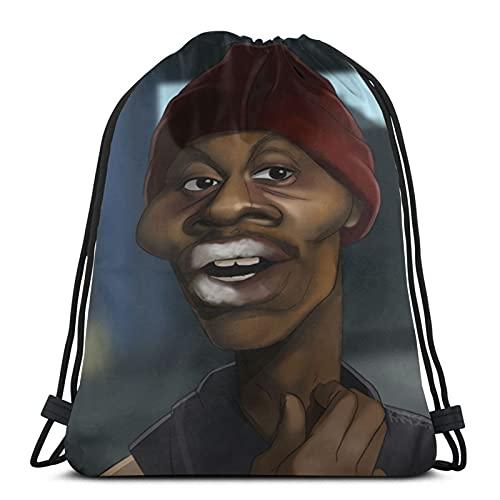 Dave-Chappelle Turnbeutel Drawstring Bags Sporttaschen Kordelzugbeutel Sport Beutel Gym Sack für Yoga Kinder Erwachsene