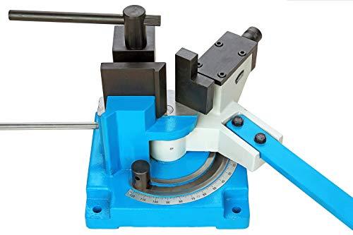 Pro-Lift-Werkzeuge Winkelbiegemaschine bis 100 mm Universal-Biegemaschine Biegewinkel bis 120 Grad Handbieger Schwerlast Formen-Bieger Biegegerät
