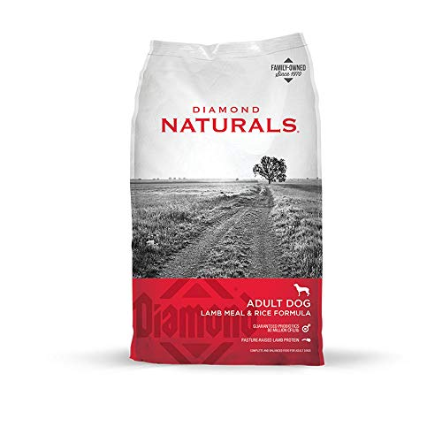 Diamond Naturals Premium Dog Dry Food with Real Pasture lamb protein