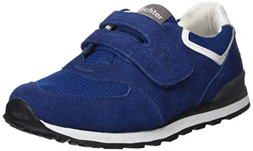 Richter Kinderschuhe Jungen Junior Sneaker, Blau (Blue/White 6831), 34 EU