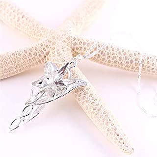 Fashion Lord of the Rings Arwen Evenstar Pendant Necklace