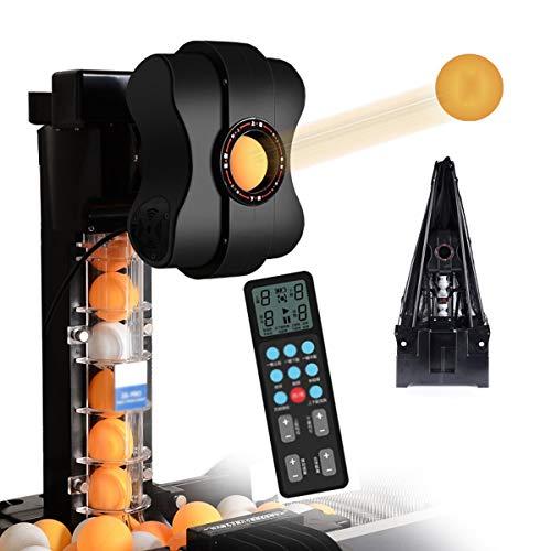 Tischtennis-Trainingsroboter, Automatische Tischtennis Ballmaschine Mit 36 Verschiedenen Spin Balls Automatic Ball Launcher-50W
