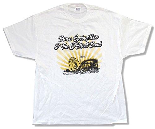 Bruce Springsteen Giants Stadium Summer Tour 2003#2 White T Shirt (M)