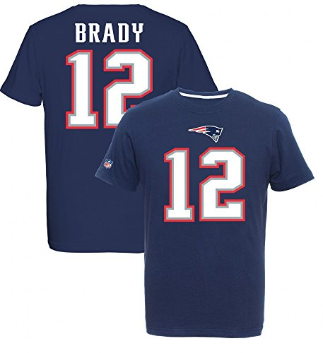 Majestic NFL Fan Shirt - New England Patriots 12 Tom Brady -