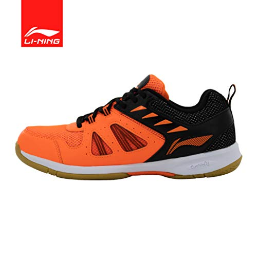 Li-Ning Attack G5 Badminton Shoes (Orange/Black) UK 10