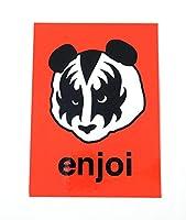 enjoi sticker エンジョイ ステッカー KISS RED レッド