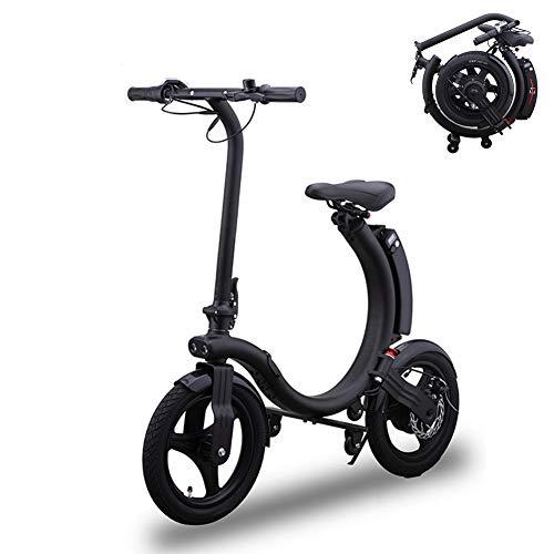 TANCEQI Bicicleta Electrica Plegables, 250W Motor Bicicleta, Plegable 28 Km/H, Sin Pedales,...