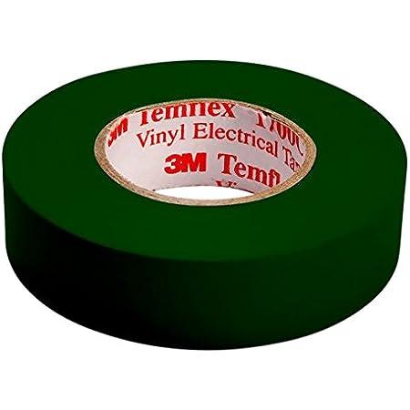 10x Elektriker Isolierband PVC 19mm breite 10m länge grün Isolierband 19mm x 10m
