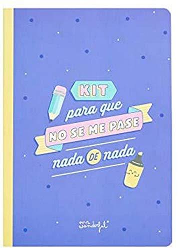 Mr Wonderful - Libreta de Pegatinas y Notas Adhesivas 'Para...