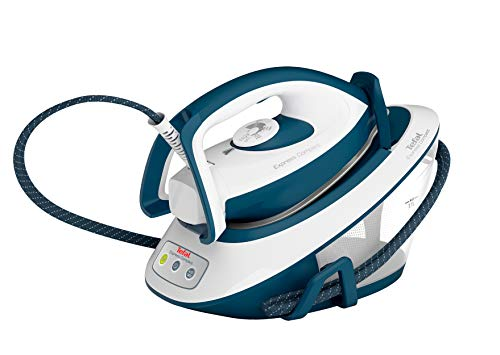 Tefal SV7110 Express Compact Strijkstation (5,7 bar, 120 g/min. Continue stoom, 350 g/min. Extra stoom) blauw/wit