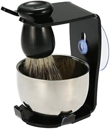 3 In 1 Men's Bargain Shaving Razor Brush Soldering Hair R Set Badger Stand