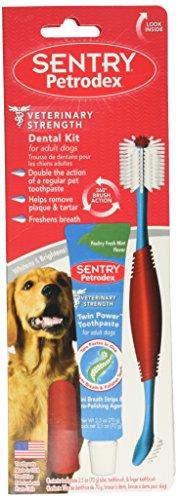 SENTRY Petrodex Dental Care Kit for Adult Dogs