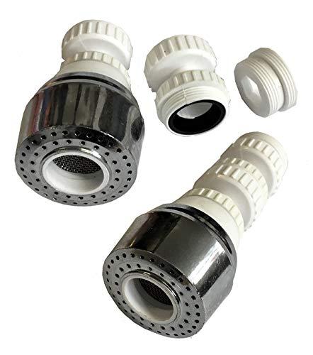 Wassersparer Brausekopf Wasserhahn Brause Schwenkbrause Sparventil (sparer7)