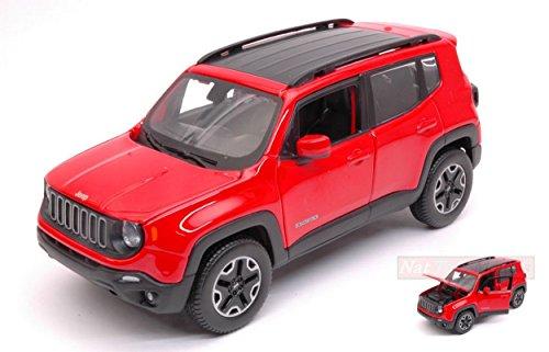 Maisto MI31282R Jeep Renegade 2015 RED 1:24 MODELLINO DIE CAST MODEL