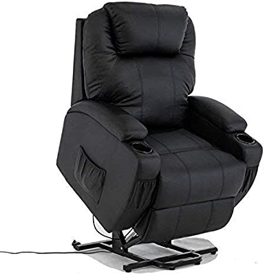 Amazon.com: Mcombo Electric Power Lift Recliner Chair Sofa ...