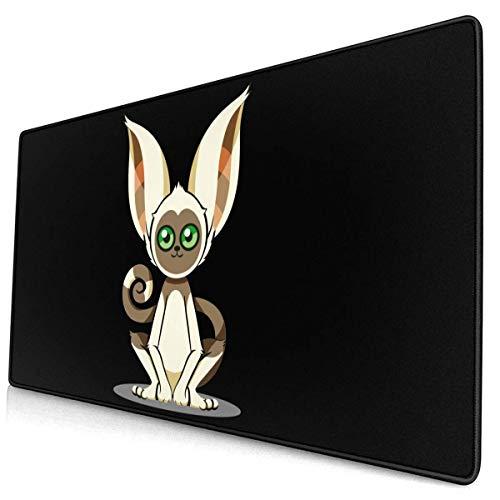 Mausepad Avatar The Last Airbender Momo Großes Rutschfestes Computer-Rechteck Bürogeschenk 40X75Cm Tischmausmatte Gaming Mousepad Rubber Anime Printed Mouse Pad
