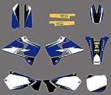 Adhesivo de Motocross Modificado Kit de Equipo de gráficos Delcas Etiqueta Deco for Yamaha YZ125 YZ250 1996 1997 1998 1999 2000 2001 125 250 YZ