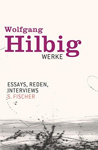Werke, Band 7: Essays, Reden, Interviews