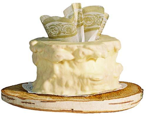 Salzwedeler Baumkuchen weiße Schokolade 2-Ring