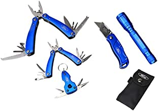 Ford Fht0121 Multi Tool, Knife And Led Light 5 In 1 Set
