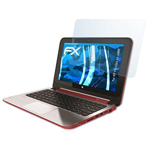 atFolix Schutzfolie kompatibel mit HP Pavilion 11 x360 Folie, ultraklare FX Bildschirmschutzfolie (2X)