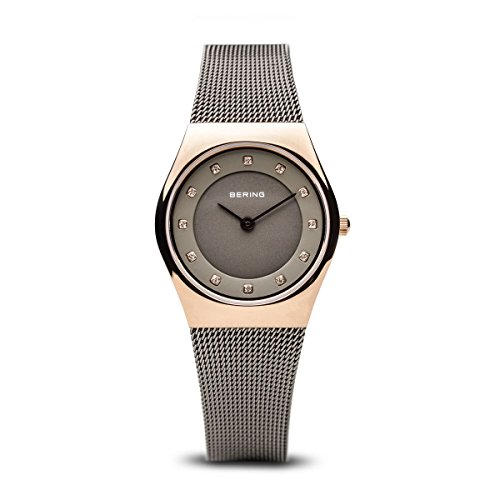 BERING Time | Women's Slim Watch 11927-369 | 27MM Case | Classic Collection | Stainless Steel Strap | Scratch-Resistant Sapphire Crystal | Minimalistic - Designed in Denmark