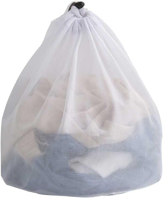 ZENING Bolsas de lavandería de malla, reutilizables para lavar a máquina, bolsas de red de lavado duraderas, para artículos delicados, ropa interior, sujetadores y ropa de bebé
