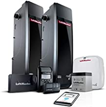 LIFTMASTER 8500W Two-Pack JACKSHAFT Garage Door Opener MYQ Enabled WiFi and Battery Installed ……