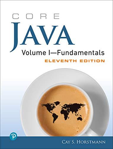Core Java Volume I--Fundamentals (Core Series) (English Edition)
