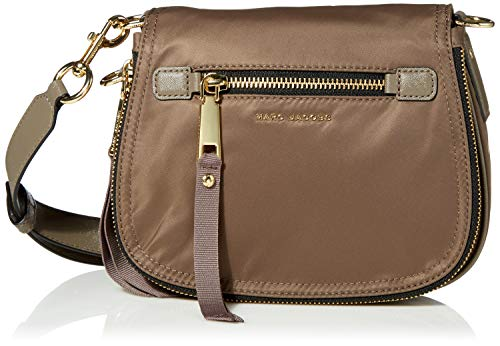 Marc Jacobs Damen Trooper Small Nomad Crossbody Umhängetasche, Lehmboden