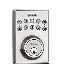 Kwikset Electronic Keypad Deadbolt, home security, smart home, best keyless entry door locks, best smart door locks, best electronic door locks