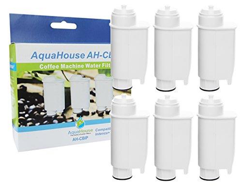 6x AH-CBIP Compatible pour Philips Saeco CA6702/00 CA6706/48 Cartouche de filtre à eau pour Lavazza Gaggia machine à café