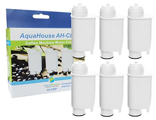 AquaHouse AH Copenhagen, Compatibel waterfilterpatronen voor Saeco Phillips Lavazza Gaggia koffiezetapparaten espressomachine A Modo Mio Saeco CA6702/00