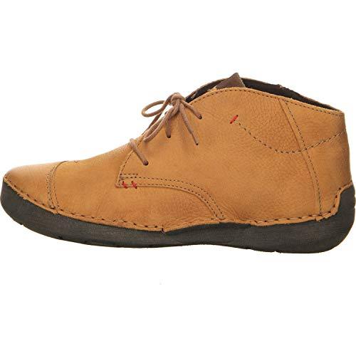 Josef Seibel Damen Fergey 18 Halblange Stiefel, Orange Safran, 44 EU