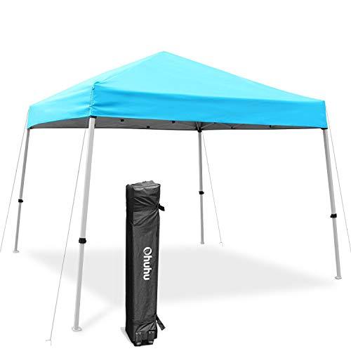 Ohuhu EZ Pop-Up Slant Leg Canopy Tent, 10 X 10 FT Instant...