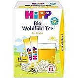 HiPP Bio Teegetränke Erster Wohlfühl-Tee (zuckerfrei), 6er Pack (6 x 5,4 g)